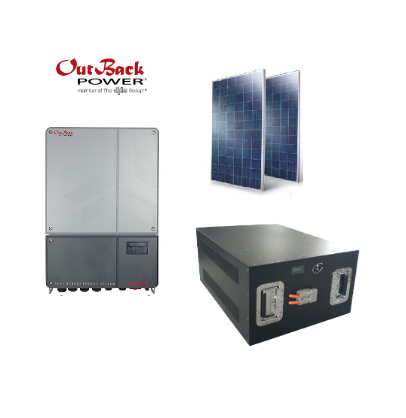 6kW Grid Tie Skybox Solar + Battery Backup Bundle